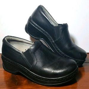 Klogs Black Comfort Clog Loafers Slip Resistant 7
